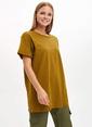 DeFacto Uzun T-shirt Haki